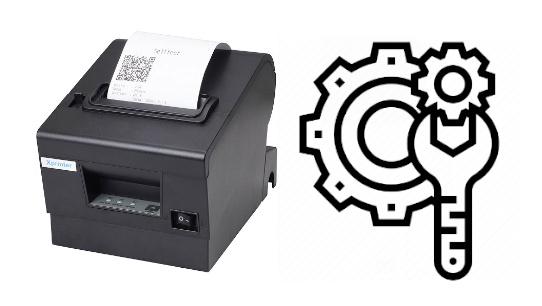Hướng dẫn reset máy in hoá đơn, máy in tem để sửa lỗi
