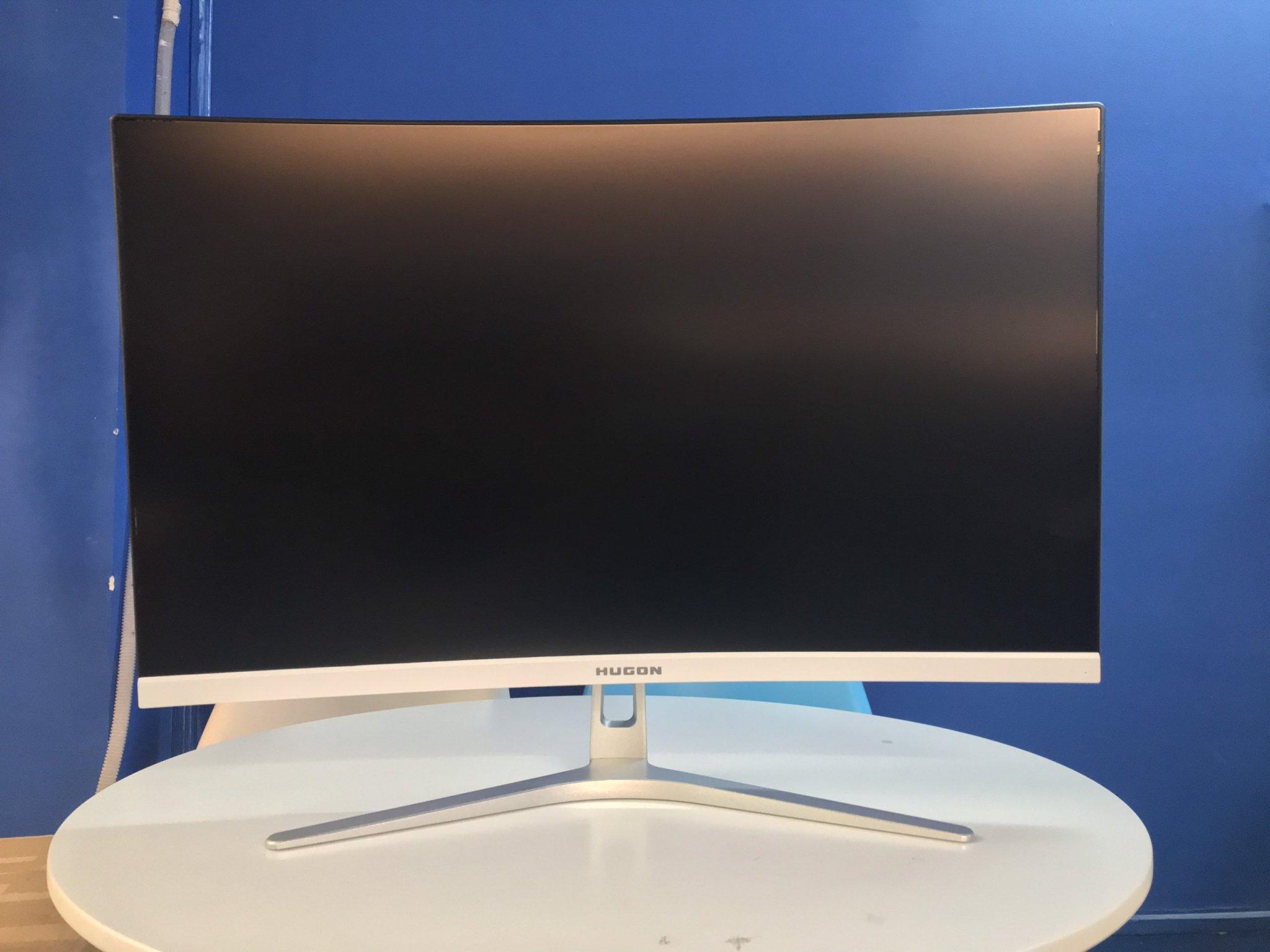 Màn hình máy tính 27 inch cong full viền 75Hz new hugon Q270