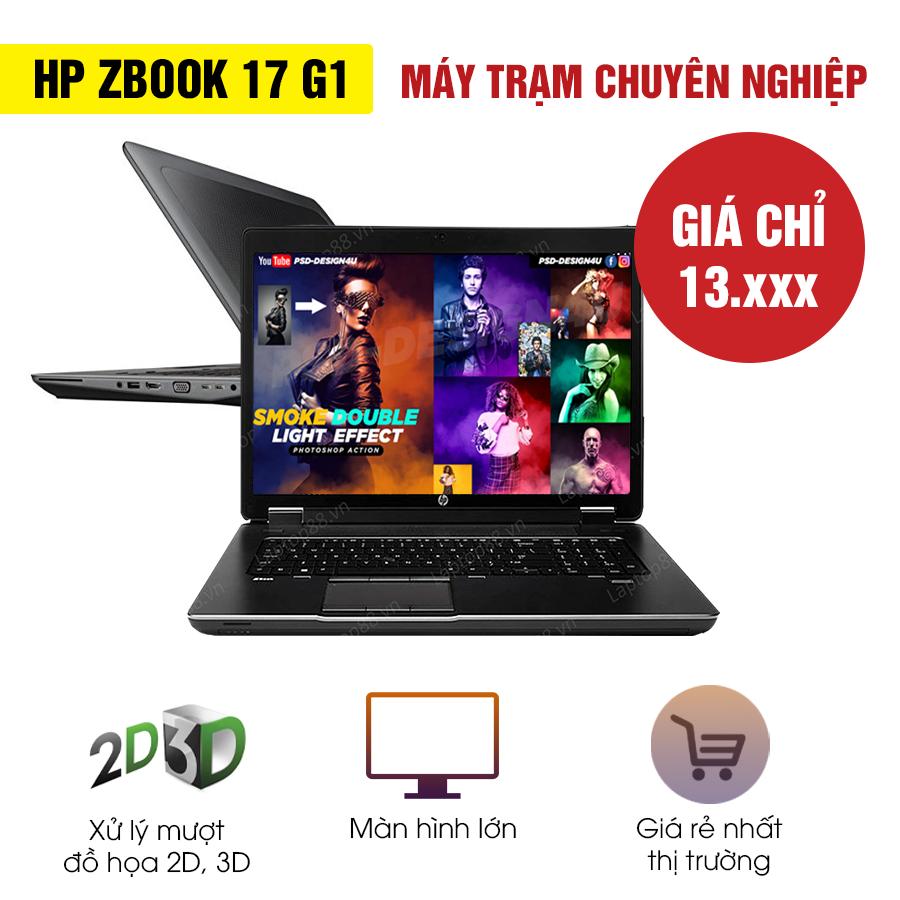 Laptop Xách Tay HP Zbook 17 G1 - Intel Core i7