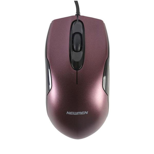 Chuột Newmen M266 USB Purple (GB)